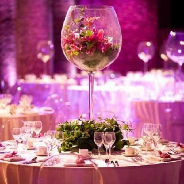 verre à vin géant décoration