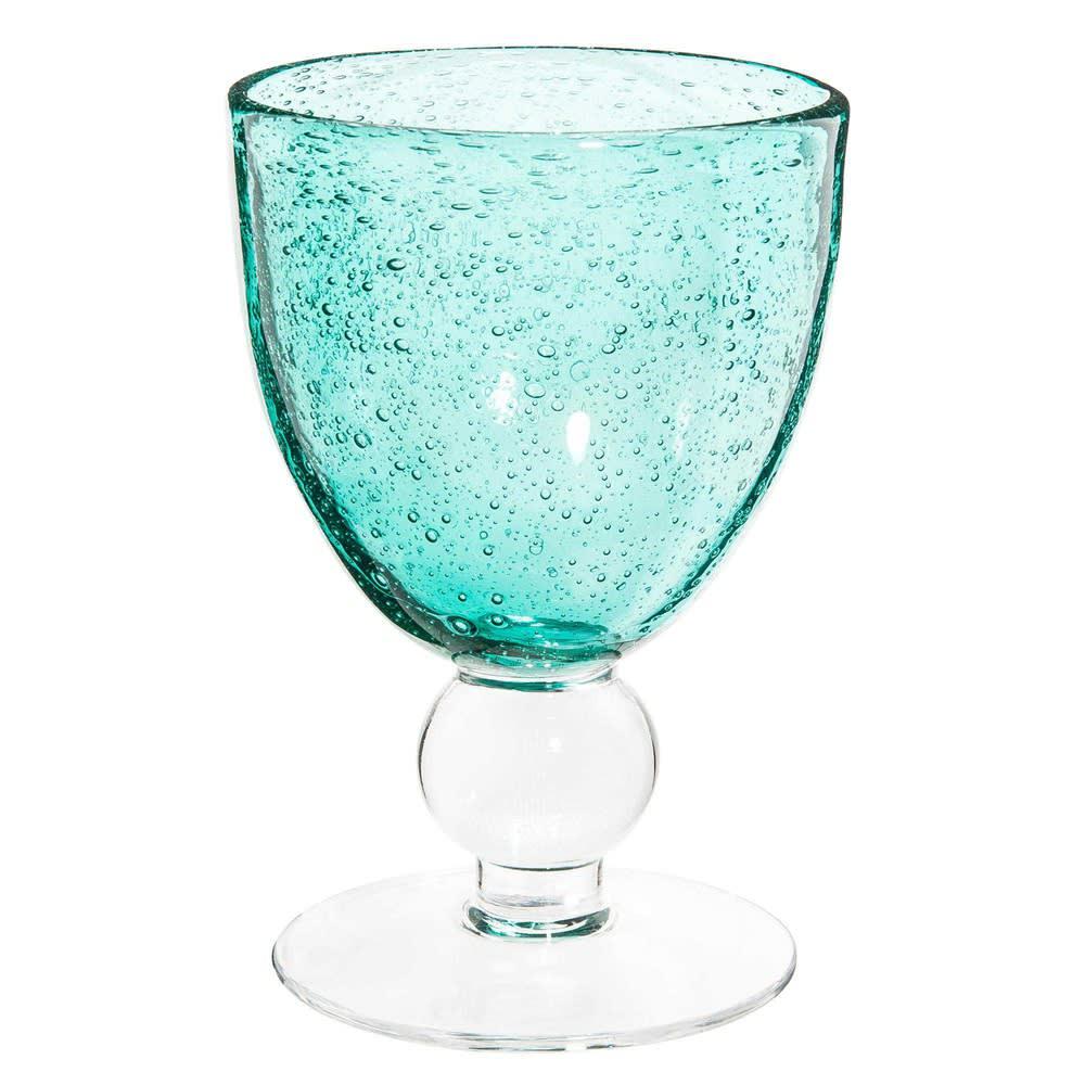 verre à vin bullé