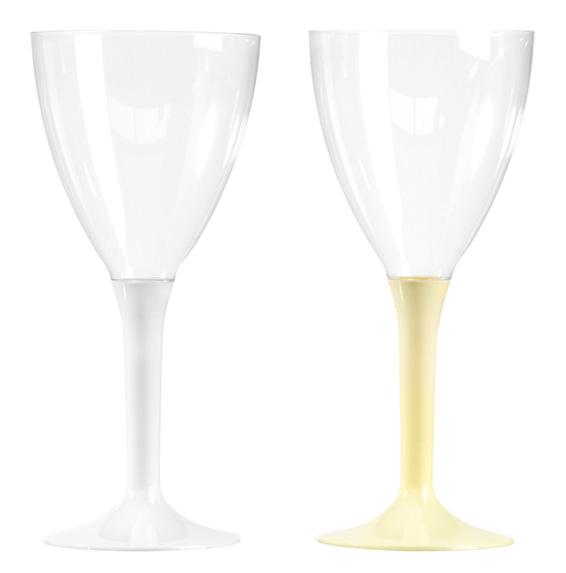 verre à vin ballon jetable