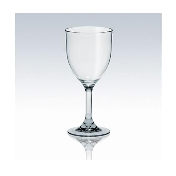verre à vin en plastique