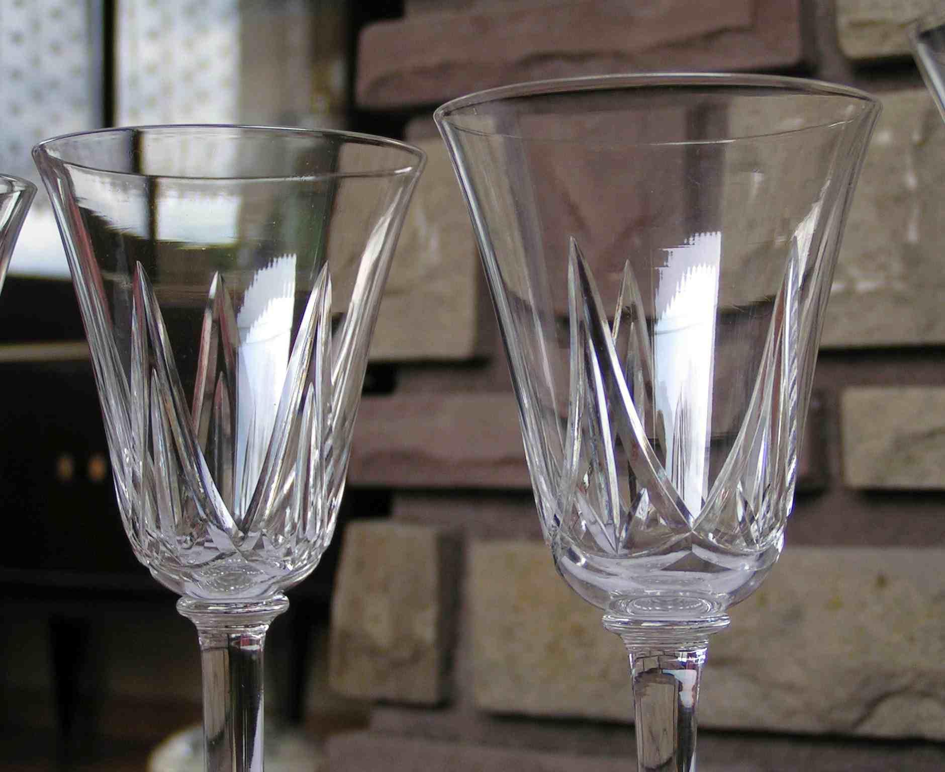 verre vin blanc st louis