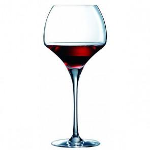 le verre à vin rouge