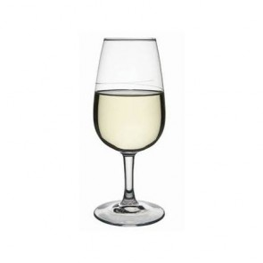 verre à vin jaune moutarde