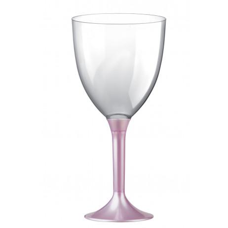 verre a vin acrylique blanc