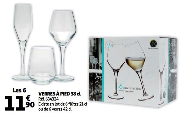 verre a vin blanc auchan