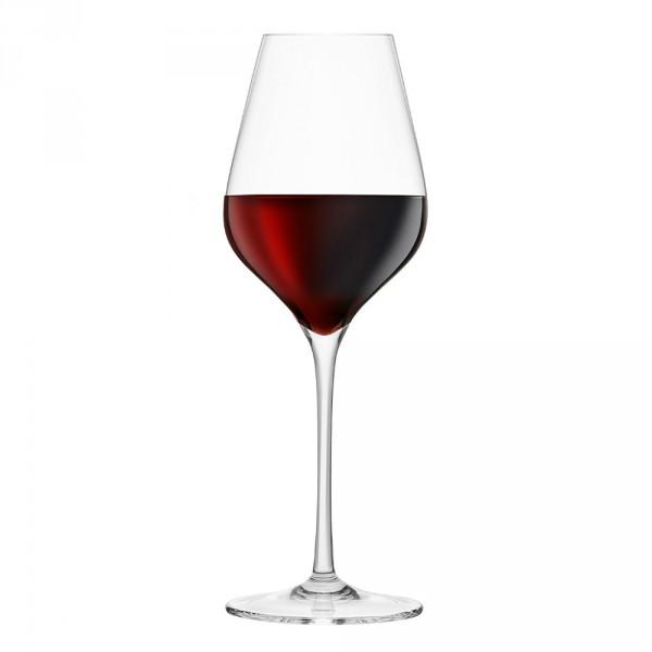 verre à bordeaux en cristal