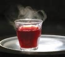 verre à vin chaud