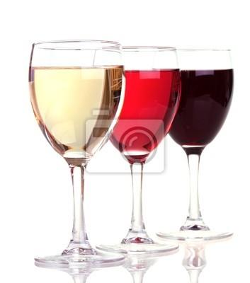 verre à vin rouge ou blanc
