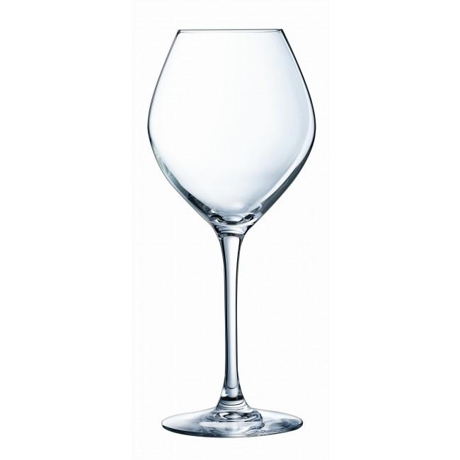 verre a vin rouge en cristal
