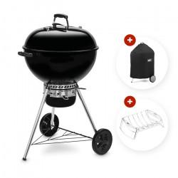 barbecue charbon weber original kettle premium 57 cm + housse