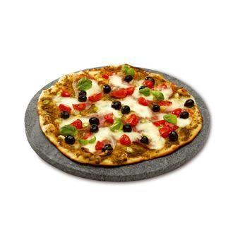 barbecue charbon pizza