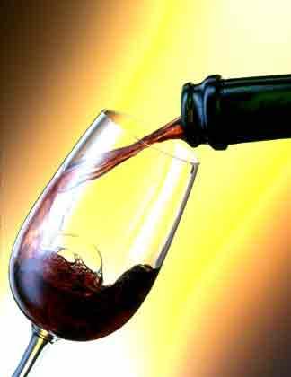 verre de vin rouge ecole