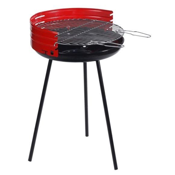 barbecue charbon sur pied