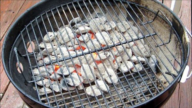 barbecue charbon comment faire