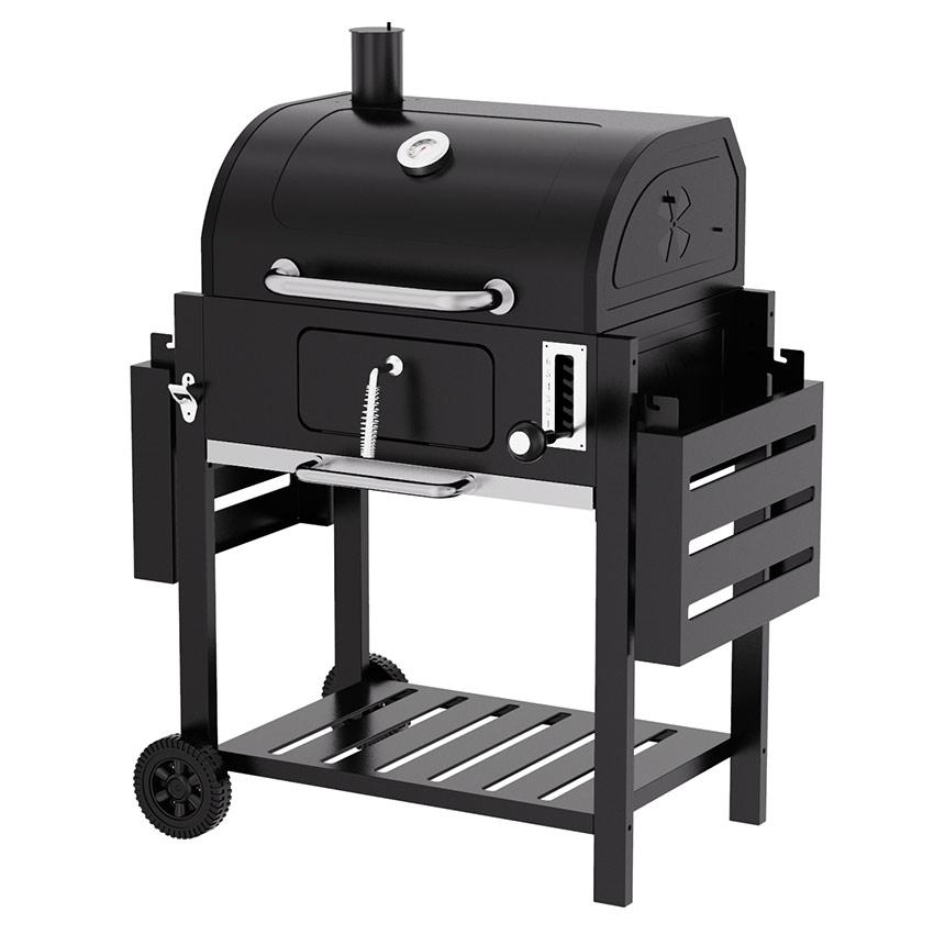 barbecue charbon et bois