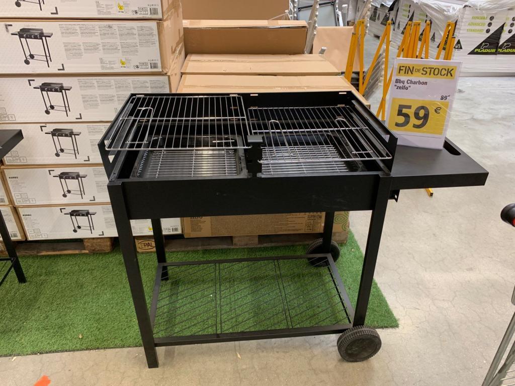 barbecue charbon de bois blooma