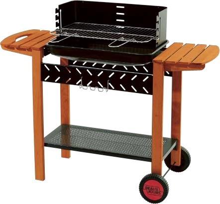 barbecue charbon de bois leclerc