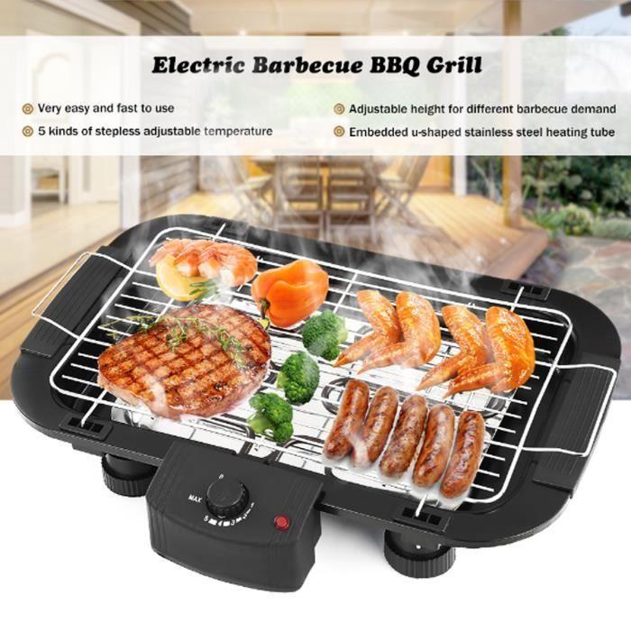 barbecue electrique fumée