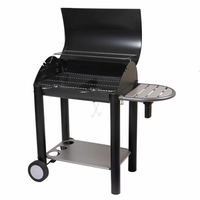 barbecue charbon avec grille en fonte