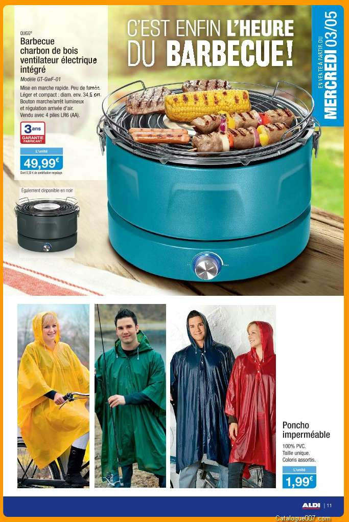 barbecue charbon aldi