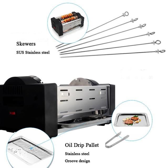 barbecue horizontal electrique