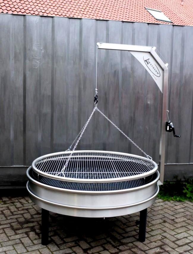 barbecue charbon artisanal