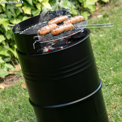 barbecue charbon baril
