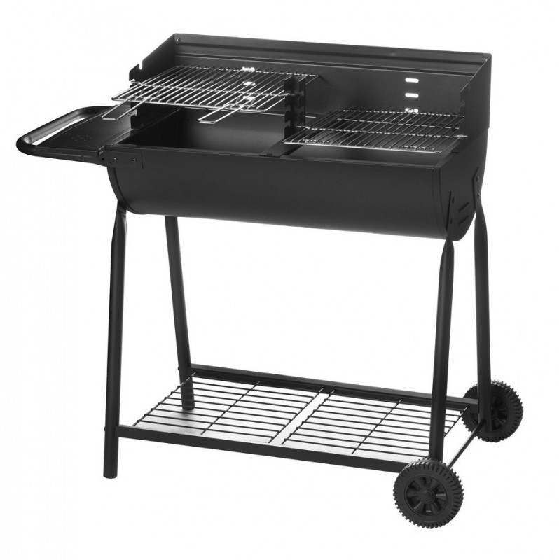 barbecue charbon couvercle