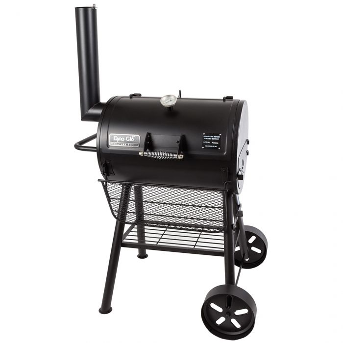 barbecue charbon cylindrique