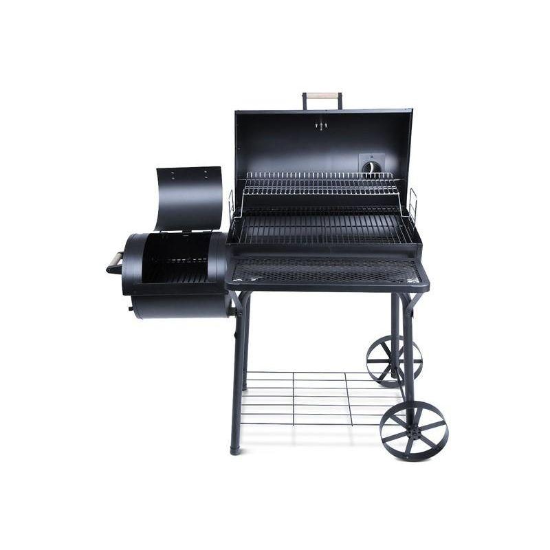 barbecue charbon avec fumoir