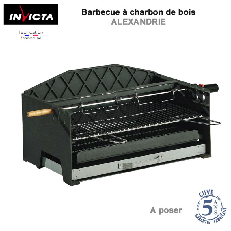barbecue charbon a poser