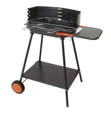 barbecue charbon de bois cuve fonte