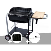 barbecue charbon cuve fonte leclerc
