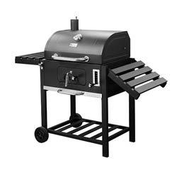barbecue charbon avec couvercle