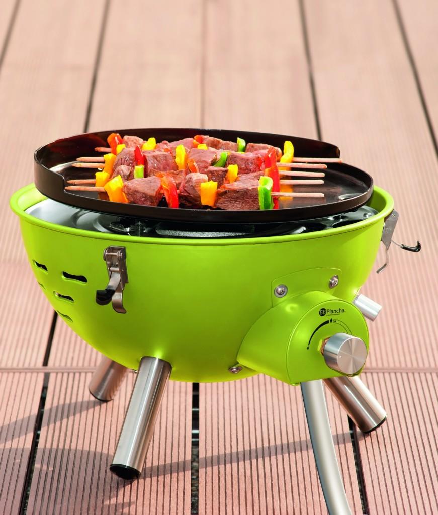 barbecue electrique qui fait des flammes