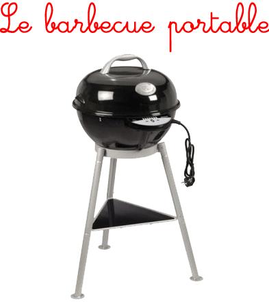 barbecue electrique portable