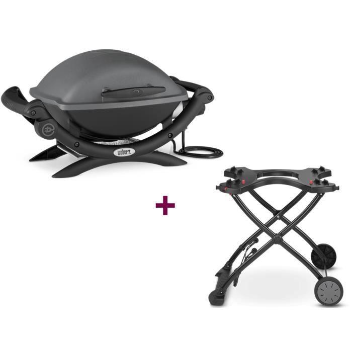 barbecue electrique weber promo