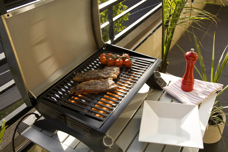 barbecue electrique sur balcon