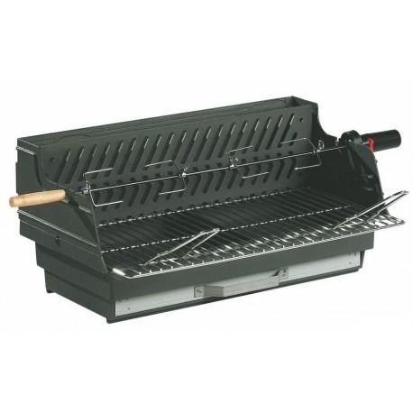 barbecue charbon de bois en fonte