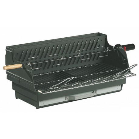 barbecue charbon encastrable