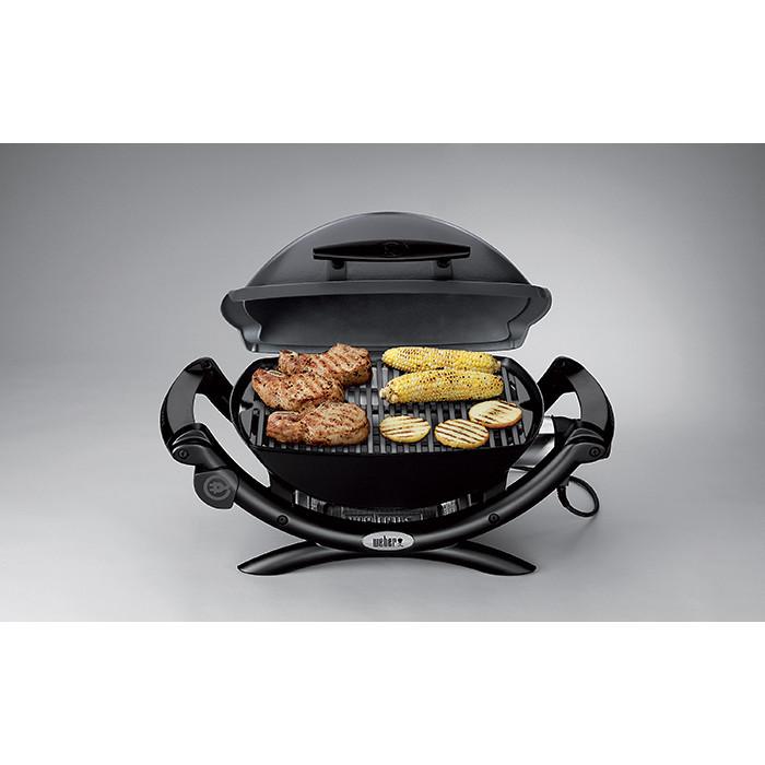 barbecue électrique q1400 + housse + chariot - weber