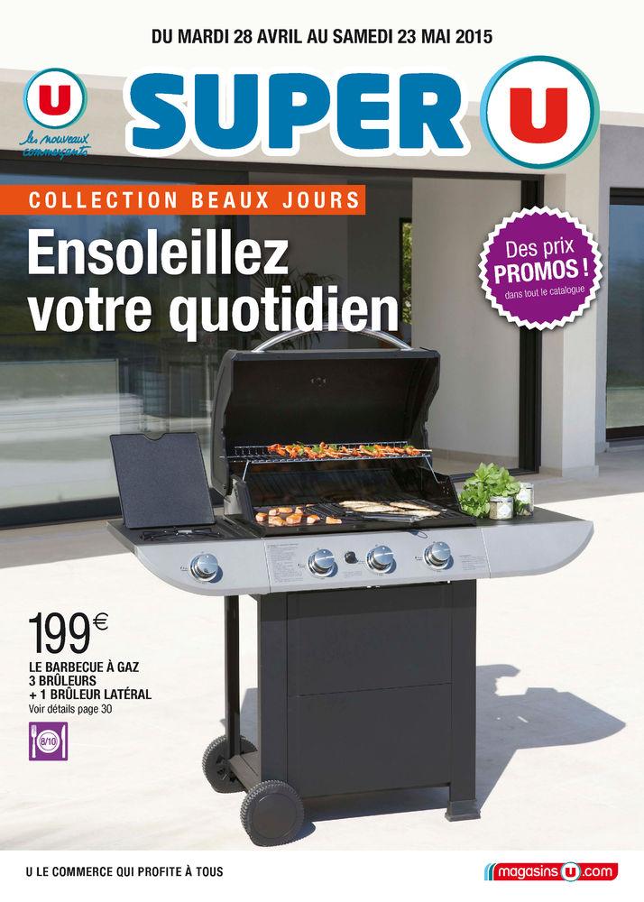 barbecue electrique hyper u