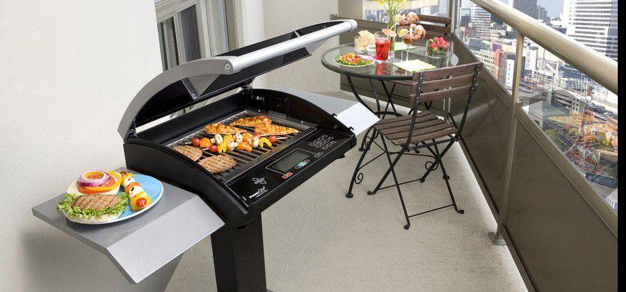 barbecue électrique balcon