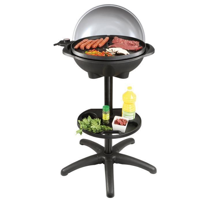 barbecue electrique couvercle