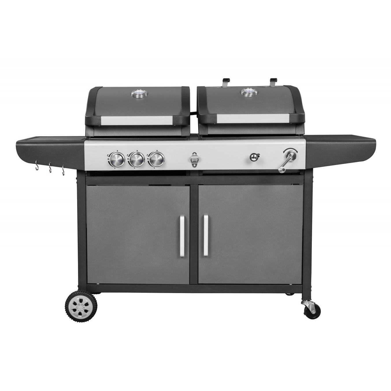 barbecue charbon et gaz