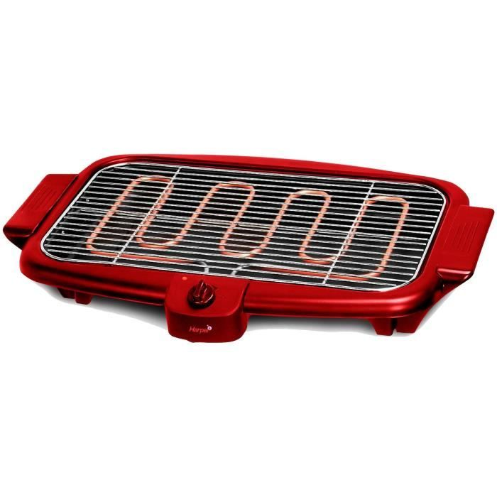 barbecue electrique rouge