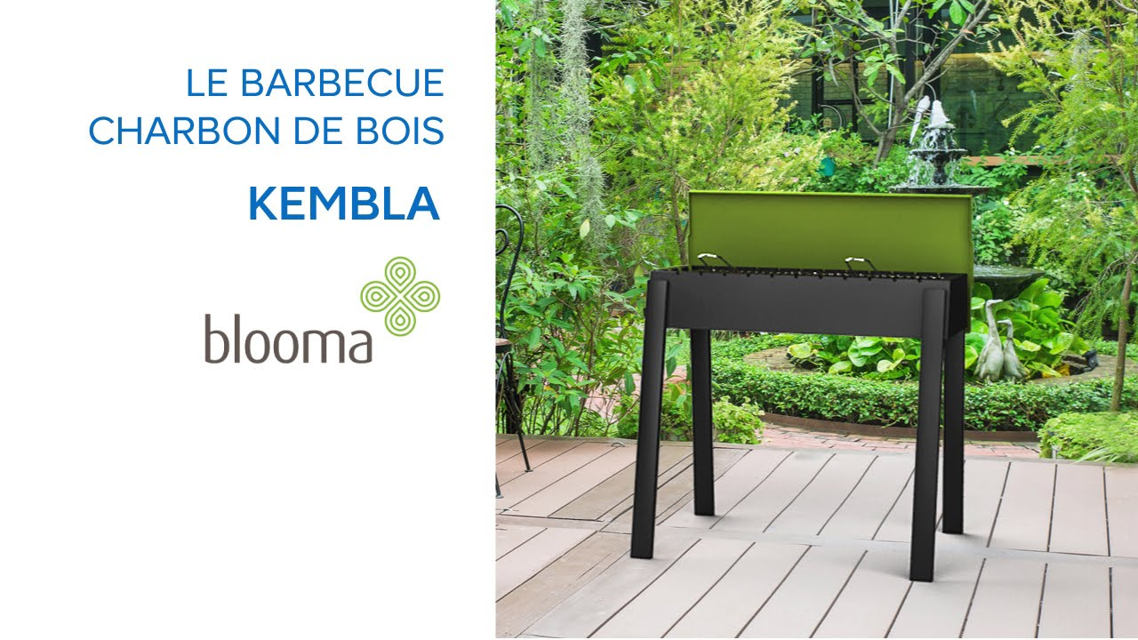 barbecue charbon blooma