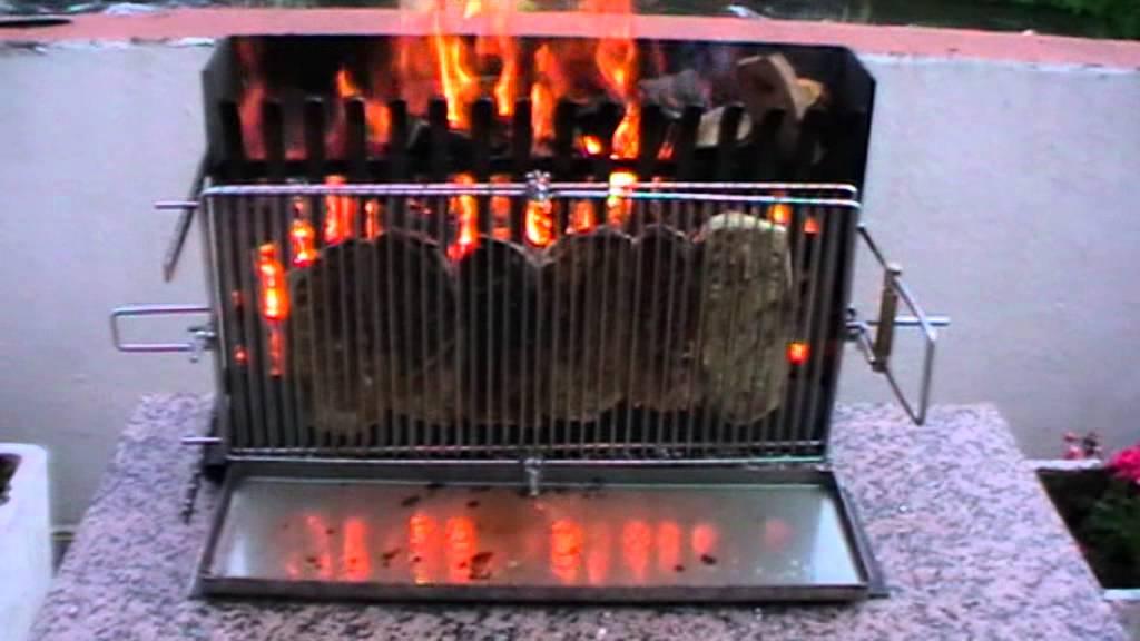 barbecue electrique vertical