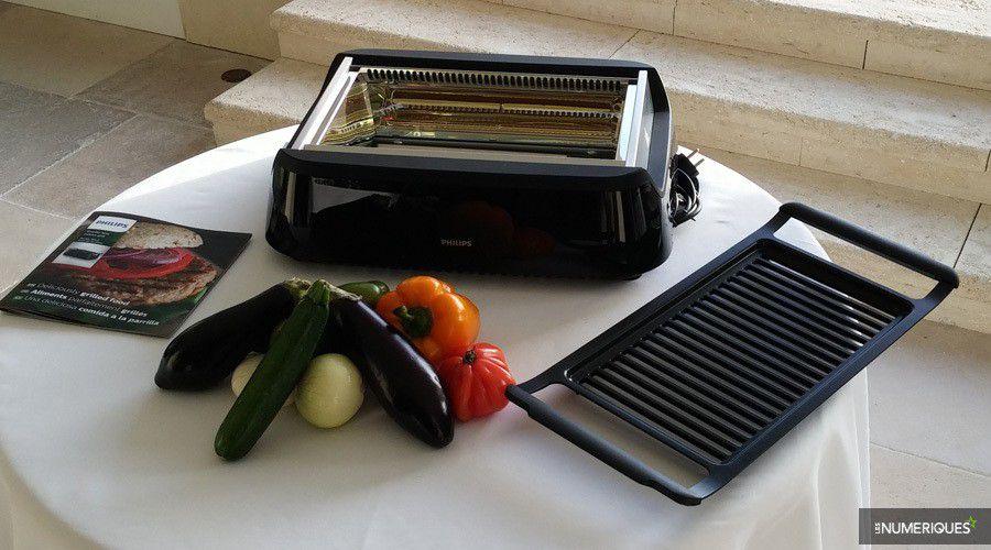 barbecue électrique philips hd6370/90