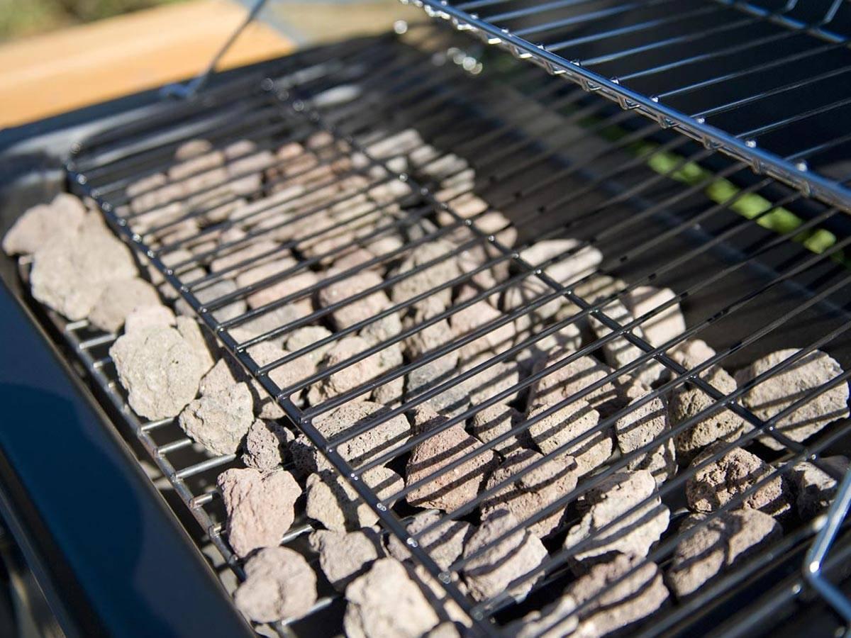 barbecue electrique pierre de lave
